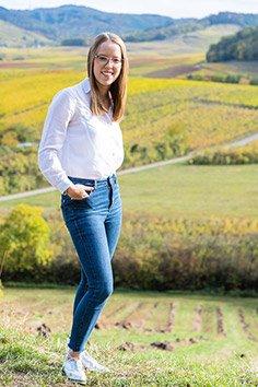Weinkönigin Ellen Volzer