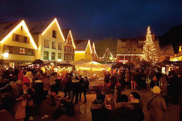 Weihnachtsmarkt Dettingen