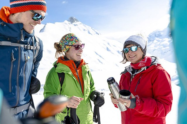 Montafon Schneeschuhwanderung
