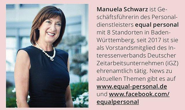 Manuela Schwarz Zeitarbeit