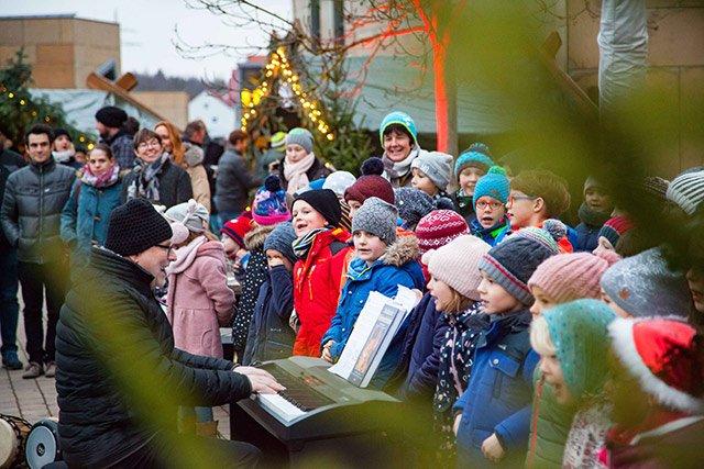 Weihnachtsmartk Ann-Sophie Schule