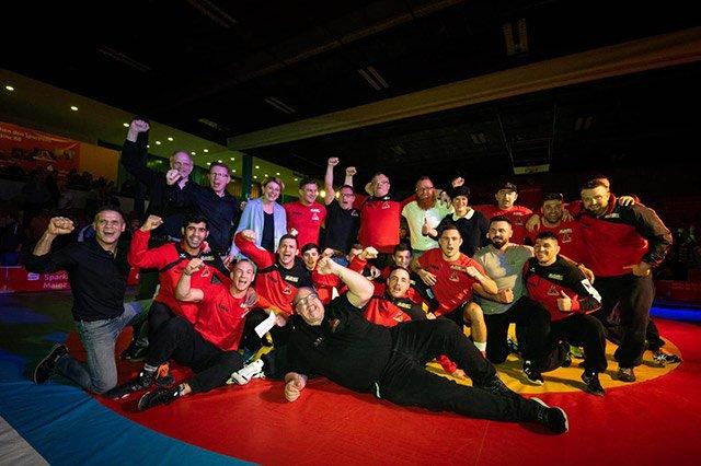 Red Devils Finaleinzug 19