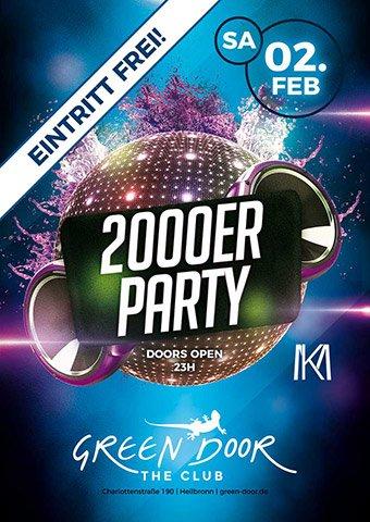 Green Door 200er Party 02/19