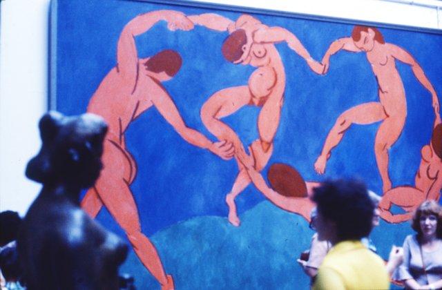 """Matisse-Gemälde """"Der Tanz"""" 1981 im Moskauer Puschkin-Museum, Ausstellung """"Paris - Moskau"""""""