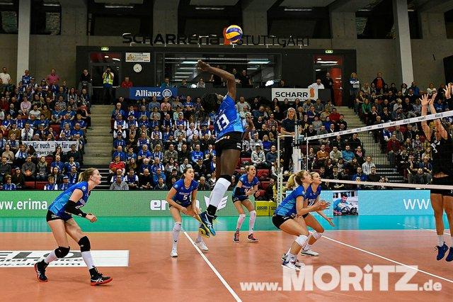 MTV Allianz Stuttgart vs. RR Vilsbiburg: Bundesliga Volleyball-Spiel am 20.01.2019 in der Scharr-Arena in Stuttgart
