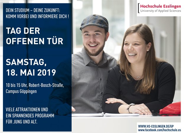 Hochschule Esslingen Anzeige 2019