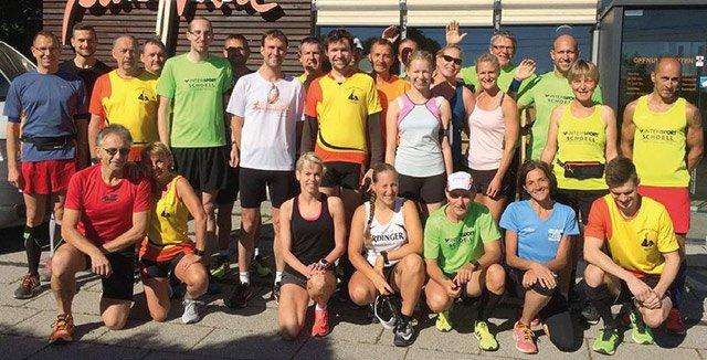 Burgberglauf Team