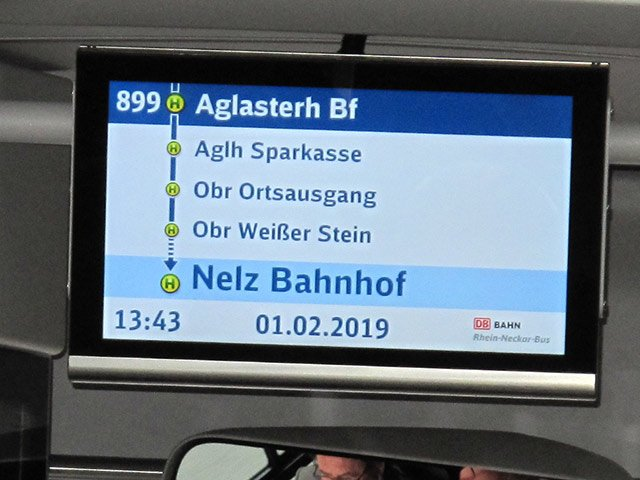 Anzeige Regiobus