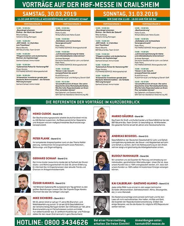 Messe Crailsheim Programm
