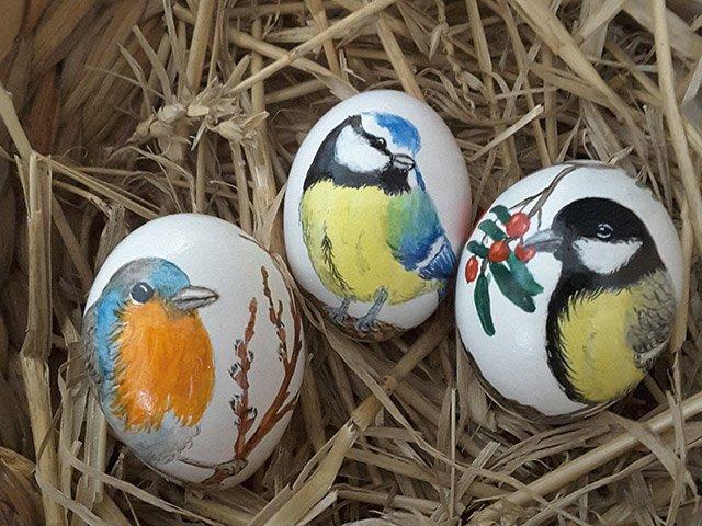 Frühlingserwachen Ostereier