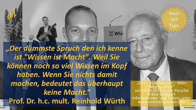 Norman Gräter Reinhold Würth