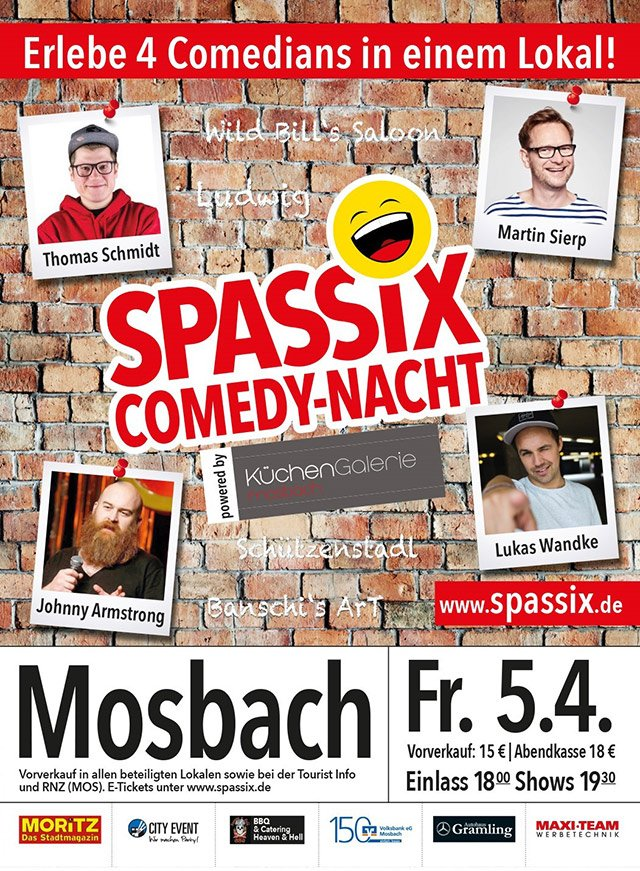 Spassix Mosbach Flyer