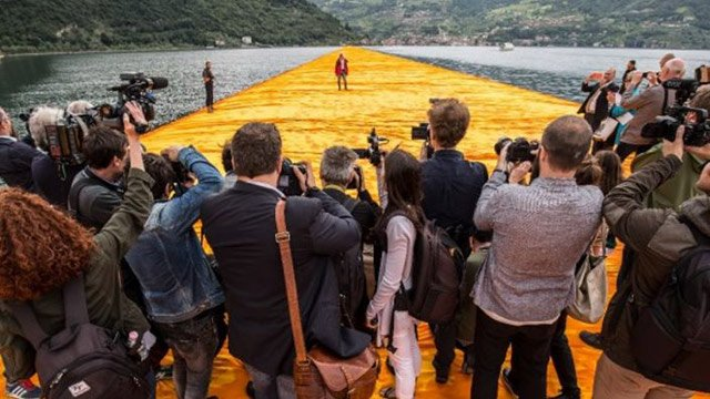 Christo Walking on Water