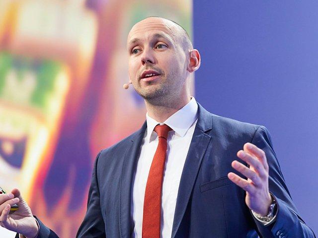 iGZ-Bundesvorsitzende Christian Baumann
