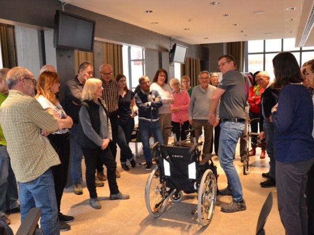 Mobilitätshelfer machen sich fit für die Remstal Gartenschau 2019