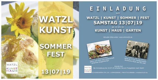 Kunst-Watzl-Sommerfest