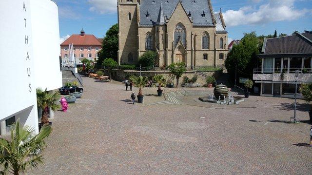 Kirchplatz Bad Rappenau