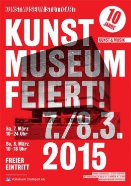 Plakat Kunstmuseum Bürgerfest