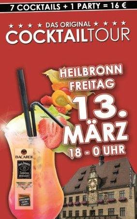 Cocktailtour im ALEX Heilbronn