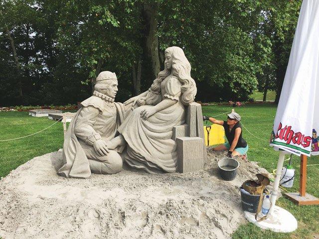 Sandkunst Ludwigsburg