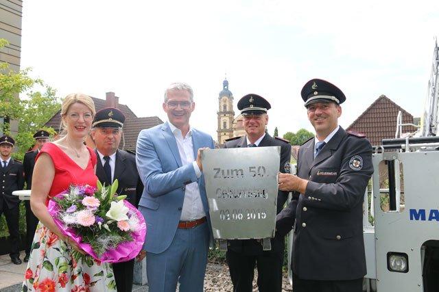 Neckarsulm gratuliert Oberbürgermeister