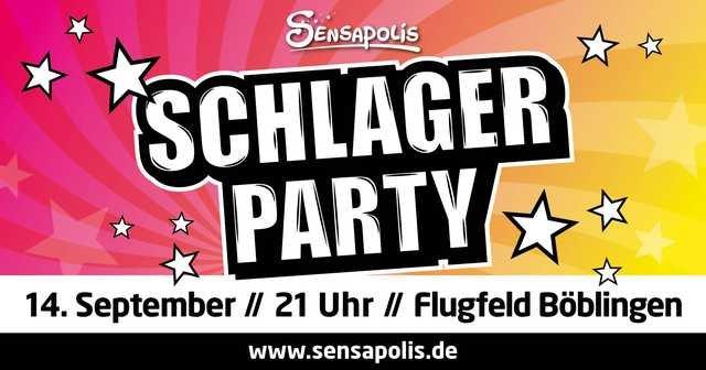 Sensapolis Sindelfingen Schlagerparty