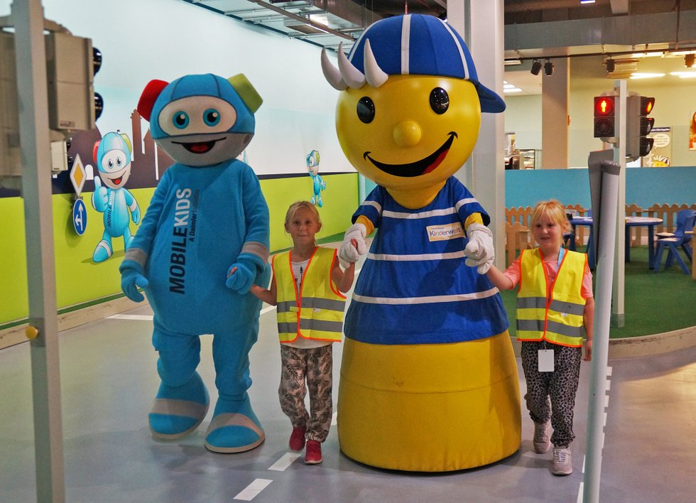 Verkehrssicherheitstage Ravensburger Kinderwelt