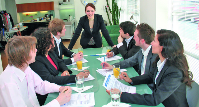 business meeting - woman ceo
