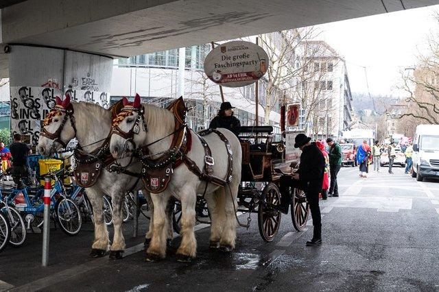 Faschingsumzug Stuttgart 25.02.2020