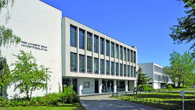 Die Universitätsbibliothek (UB) der Freien Universität Berlin
