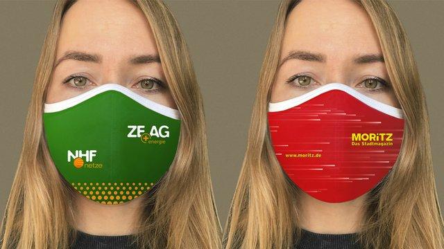 Individuelle Mundschutzmasken