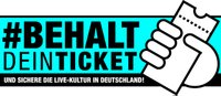 Behalte dein Ticket Logo