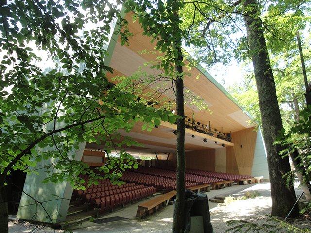 Zuschauerhalle Naturtheater Reutlingen