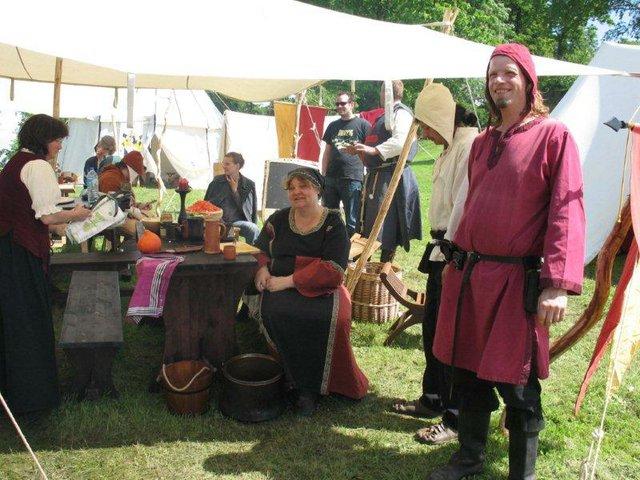 Lagerleben am Mittelalterfest