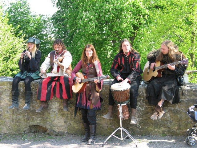 Band Metusa am Mittelalterfest