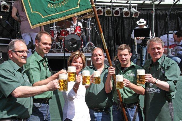 Die Distelhäuser feiern Brauerreifest!