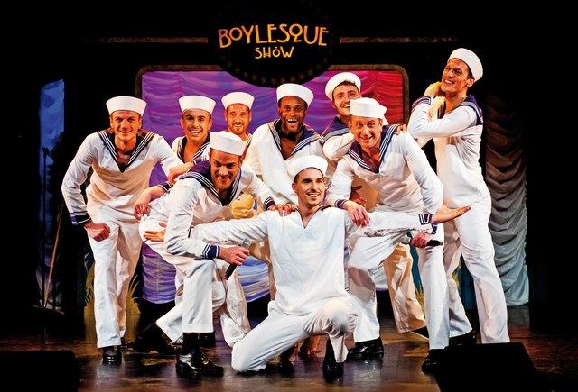 The Divine Teasers Boylesque Show