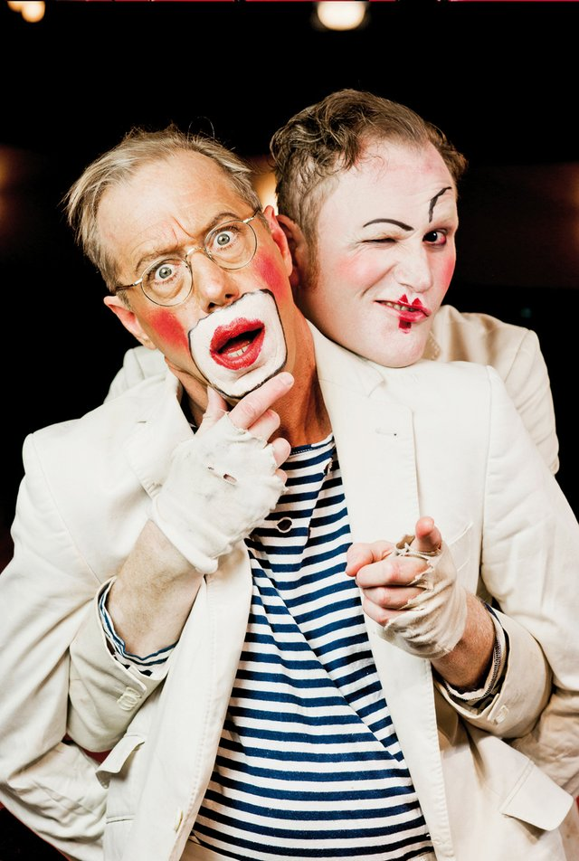 Mr. Leu & Michael Clifton