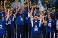 Jubelten in diesem Jahr über den Pokalsieg: der VfB Friedrichshafen