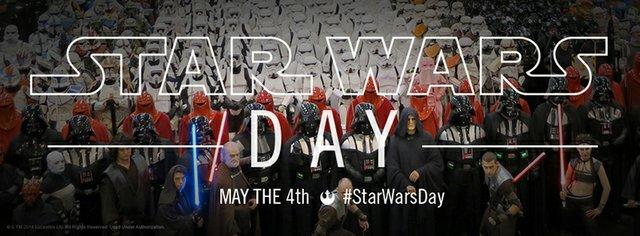 Weltweiter Star Wars Day am 4. Mai 2015