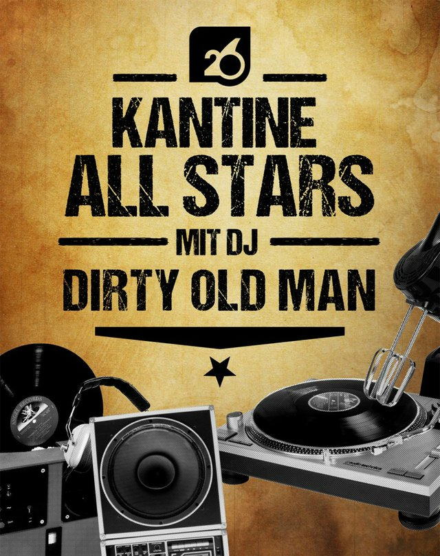 All Stars mit DJ Dirty Old Man