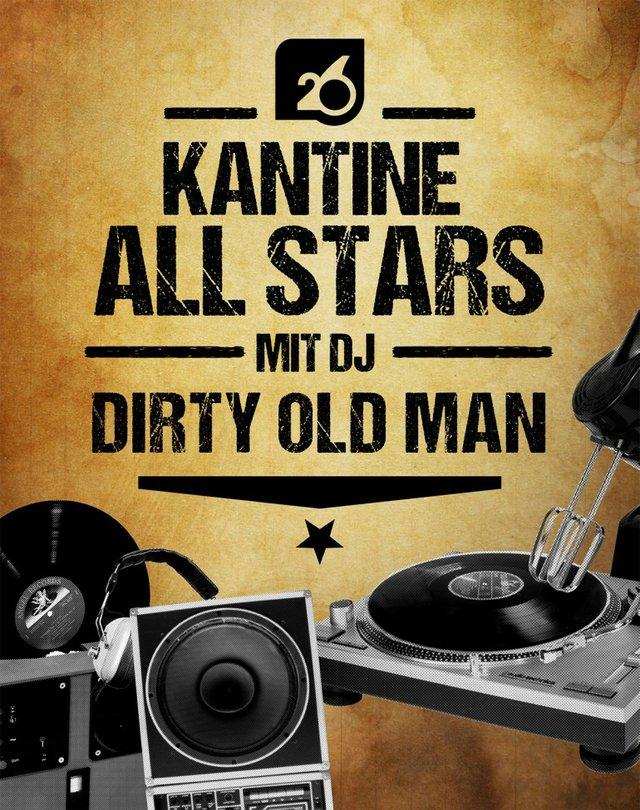 All Stars mit DJ Dirty Old Man