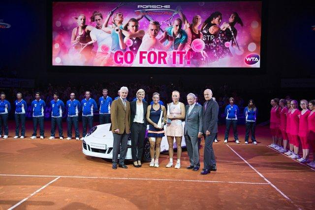 Angelique Kerber gewinnt das Traumfinale von Stuttgart
