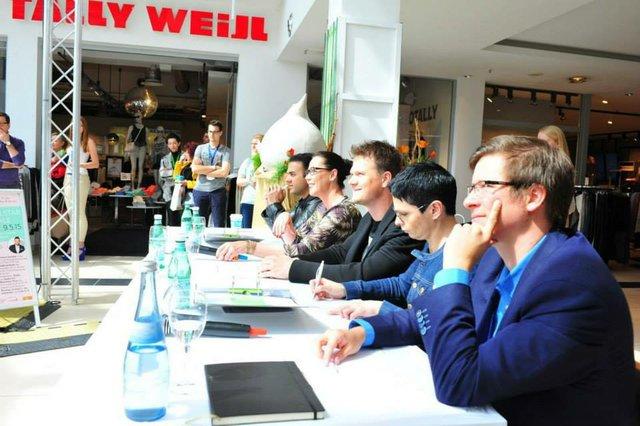 Die Jury des Castings