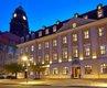 Gewandhaus Dresden bei Nacht