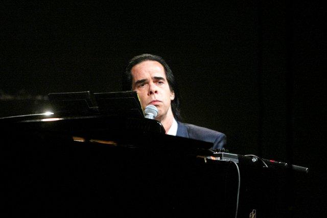 Nick Cave in der Liederhalle