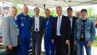 Gerst war mit drei weiteren Astronauten zur Party nach Künzelsau gekommen