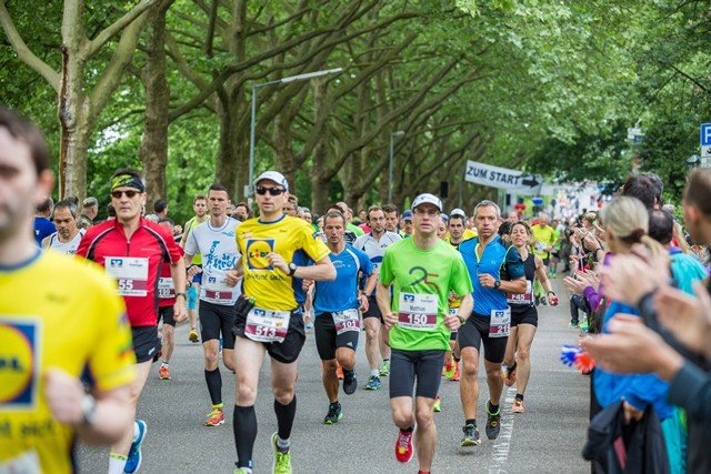 Optimale Bedingungen beim 15. Heilbronner Trollinger-Marathon