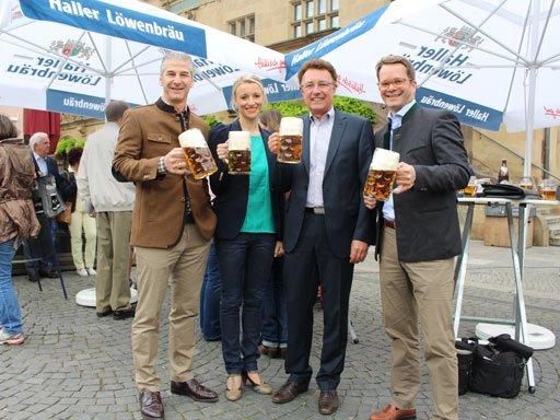 Unterländer Volksfest Presseveranstaltung