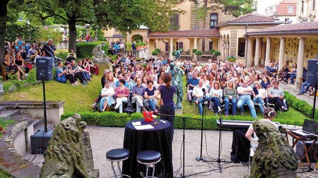 get shorties Lesebühne - Open Air